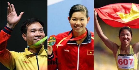 ASIAD: Ánh Viên, Xuân Vinh, Thu Thảo khát vọng gặt vàng cho thể thao Việt Nam - 1