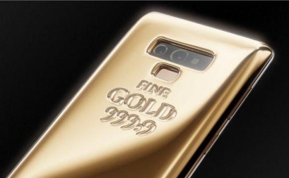 Sản phẩm - Phiên bản Galaxy Note 9 dát 1kg vàng nguyên chất với giá đắt đỏ 1,4 tỷ đồng (Hình 2).