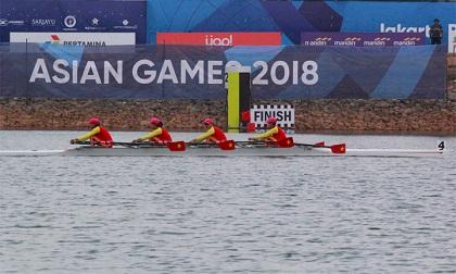 Rowing bất ngờ giúp đoàn Việt Nam giải cơn khát HCV ASIAD 18