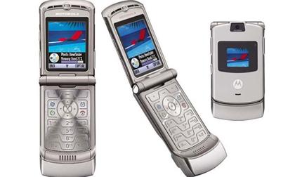 Hoài niệm những mẫu điện thoại nắp gập 'vang bóng' một thời