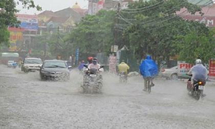 Dự báo thời tiết 28/8: Mưa lớn diện rộng ở Bắc Bộ, Bắc Trung Bộ