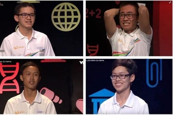 Lội dòng nước ngược cực ngoạn mục, nam sinh Quảng Ninh đã xuất sắc ẵm trọn vòng nguyệt quế Olympia 2018-1