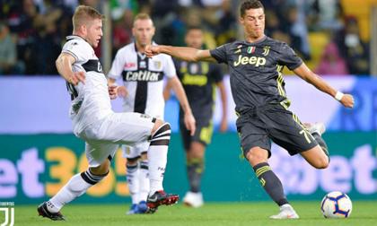 Parma - Juventus: Ronaldo nhảy múa, rượt đuổi gay cấn