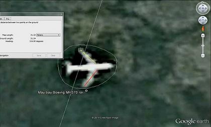 Tin máy bay MH370 rơi ở lòng hồ thiếu cơ sở khoa học