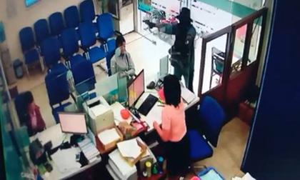 NÓNG: Đang truy bắt tên cướp ngân hàng ở Tiền Giang