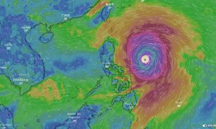 Kịch bản nguy hiểm khi siêu bão MANGKHUT đổ bộ vịnh Bắc Bộ