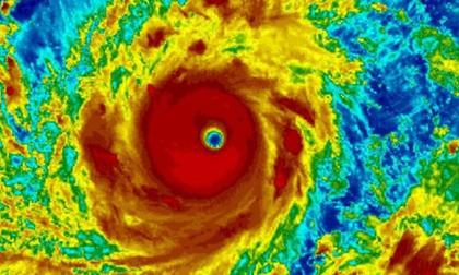 Siêu bão Mangkhut mạnh tương đương siêu bão Haiyan năm 2013 từng gây thảm họa 7000 người chết