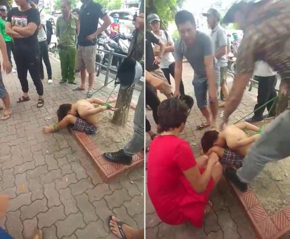 Đối tượng trói tay chân cậu bé vào gốc cây ở Hà Nội khai gì? - 2