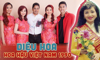 Cuộc sống làm mẹ 3 con của Hoa hậu Việt Nam đầu tiên 'phá rào' lấy chồng ngoại quốc