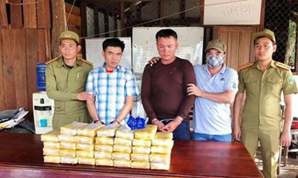 """Phát hiện vụ vận chuyển ma túy """"khủng"""" nhất từ trước đến nay ở Quảng Trị"""