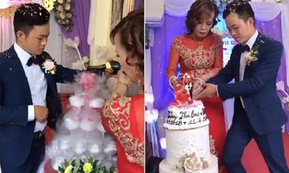 Xuất hiện người phụ nữ đến gây rối, chửi bới trong đám cưới của cô dâu 61 và chú rể 26 tuổi