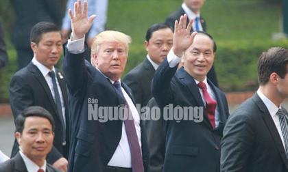 Những bức ảnh quý về Chủ tịch nước Trần Đại Quang