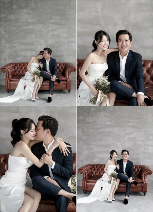 Sau bao lần chờ đợi, bộ ảnh cưới tuyệt đẹp của Nhã Phương - Trường Giang cũng đã được hé lộ  - Ảnh 3.