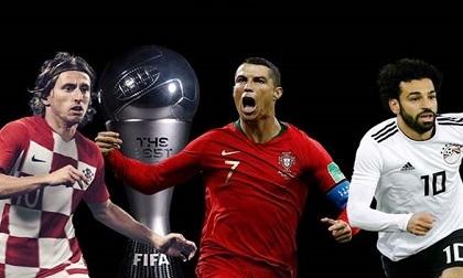 Trao giải FIFA The Best: Ronaldo chờ hat-trick lịch sử, Modric - Salah nín lặng