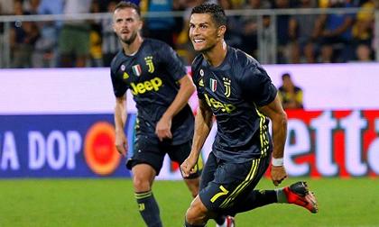Ronaldo ghi bàn, Juventus chễm chệ trên đỉnh bảng