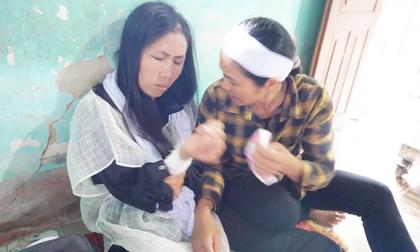 Người vợ chạy thoát đau đớn nhìn chồng và con trai bị chém chết