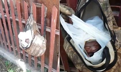 Người dân cứu sống bé sơ sinh bị bỏ rơi trong túi nilon