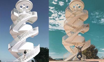 'Nấc thang lên thiên đường': Địa điểm check-in mới toanh cực ảo diệu nằm ngay tại Nha Trang