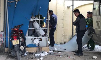 Hai anh em chế mìn cho nổ cây ATM ngân hàng Vietinbank