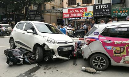 """Tài xế lái ô tô """"điên"""" gây tai nạn khiến 4 người nhập viện là ai?"""