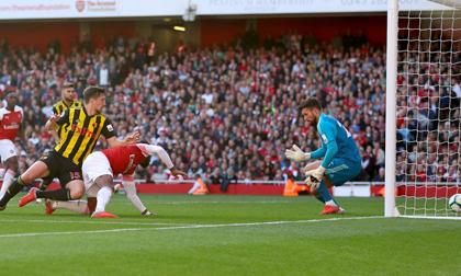 Arsenal - Watford: Vỡ òa 2 bàn trong 2 phút cuối trận