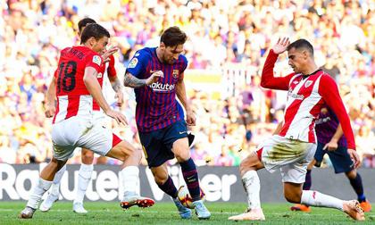 Messi bừng sáng từ băng ghế dự bị, cứu Barcelona khỏi trận thua mất mặt thứ 2 liên tiếp