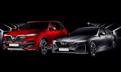 Tên 2 mẫu xe VinFast đầu tiên - Lux A2.0 và Lux SA2.0