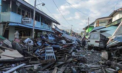 Động đất Indonesia: Phát hiện thi thể 34 học sinh dưới nhà thờ