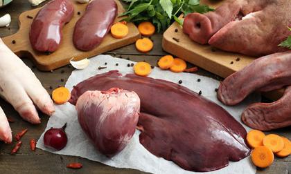 Gan, tim, bầu dục, óc, lưỡi và lá lách: Bạn nên ăn những loại nội tạng nào?