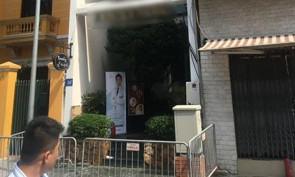 Hà Nội: Cháy thẩm mỹ viện, nhiều nhân viên mắc kẹt