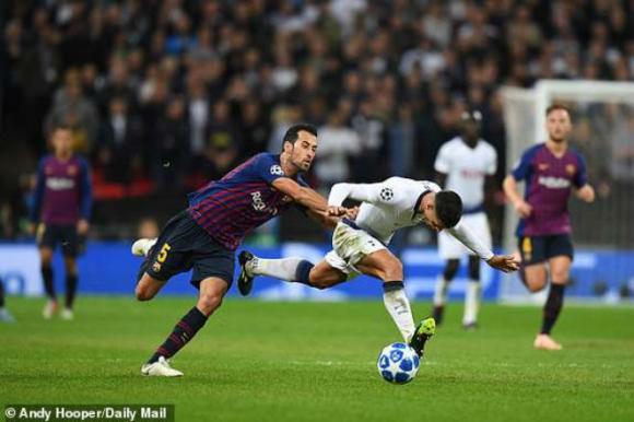 Tottenham - Barcelona: Siêu hấp dẫn màn rượt đuổi 6 bàn - 1