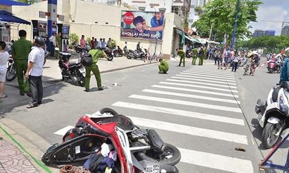Nam thanh niên bị chém, cướp xe tay ga giữa ban ngày