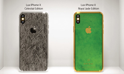 SỐC: iPhone Xs Royal Jade siêu sang, đắt gấp 2 lần Rolls Royce tại Việt Nam