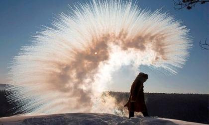 Những hình ảnh ấn tượng về ngôi làng lạnh nhất thế giới