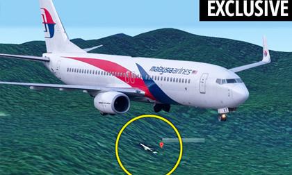 Thêm chuyên gia nhận định máy bay MH370 rơi xuống đất liền