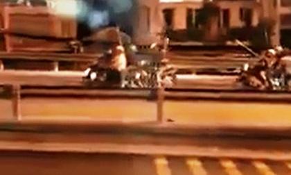 """Hỗn chiến kinh hoàng trên cầu Nhị Thiên Đường: 2 """"đại ca"""" tháo chạy khi thấy cảnh sát"""