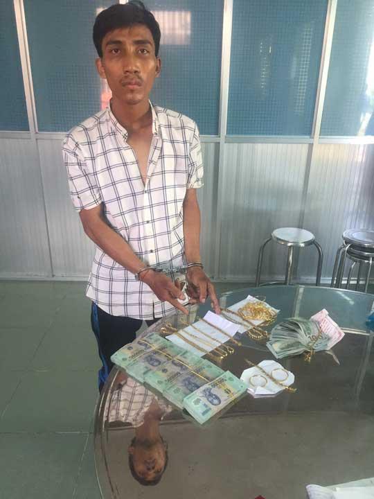 Bắt được đối tượng trộm gần 100 cây vàng ở Tây Ninh - 1