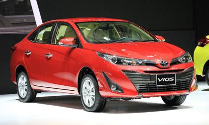 Top 10 xe bán chạy tháng 9/2018: Toyota Vios bỏ xa đối thủ thứ hai