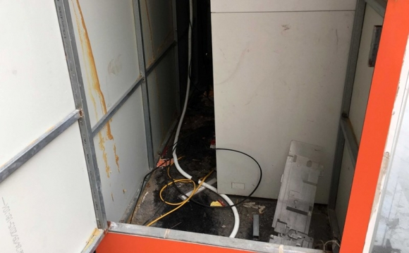 Tháo gỡ thành công 6 thỏi mìn gài tại cây ATM ở Quảng Ninh - ảnh 2