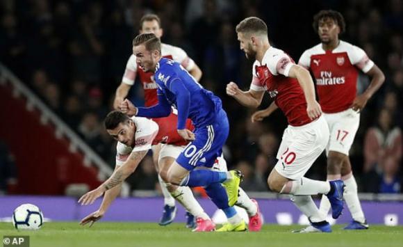 Arsenal - Leicester: Cú đúp 3 phút ngược dòng tuyệt đỉnh - 1