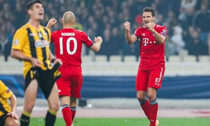 AEK Athens - Bayern Munich: 2 phút xuất thần giải bài toán khó