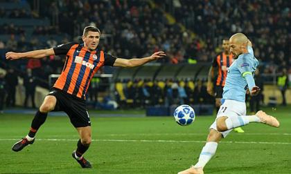 Shakhtar Donetsk - Man City: 'Song tấu Silva' tưng bừng nhảy múa