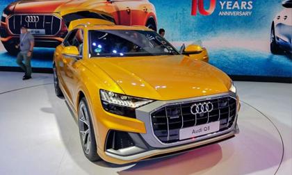 Audi chính thức giới thiệu Q8 2019 tại Việt Nam: Giá bán từ 4,5 tỷ đồng, giao xe tháng 7/2019