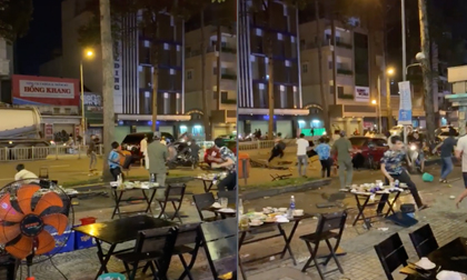 Nhóm đối tượng dùng súng khống chế 'bắt cóc' nam thanh niên giữa trung tâm Sài Gòn