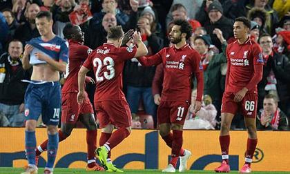 Liverpool - Sao Đỏ Belgrade: Salah rực rỡ và đại tiệc hoành tráng