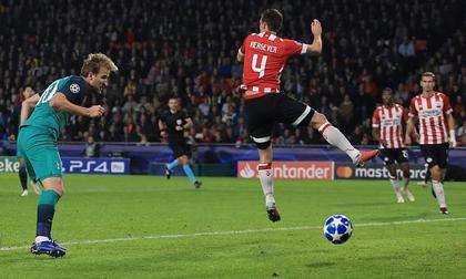 PSV Eindhoven - Tottenham: Siêu kịch tính 4 bàn rượt đuổi
