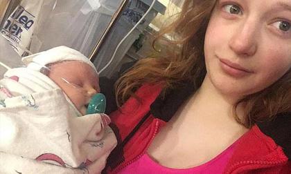 Mẹ để người lạ đến chơi hôn con mới sinh khiến bé 8 tuần tuổi tử vong