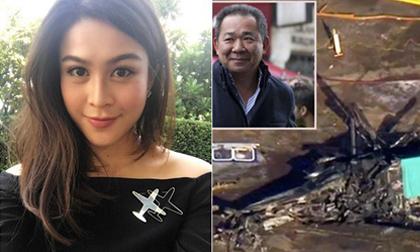 Mỹ nhân Thái Lan thiệt mạng cùng chủ tịch Vinchai trong vụ tai nạn máy bay thảm khốc là ai?