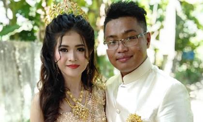 Dân mạng choáng trước gia thế cực 'khủng' của chồng cô dâu Khmer hot nhất MHX những ngày qua