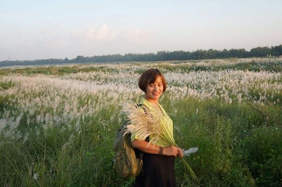 Bức tranh tuyệt tác mang tên hoa cỏ lau bên dòng Trà Khúc - 3